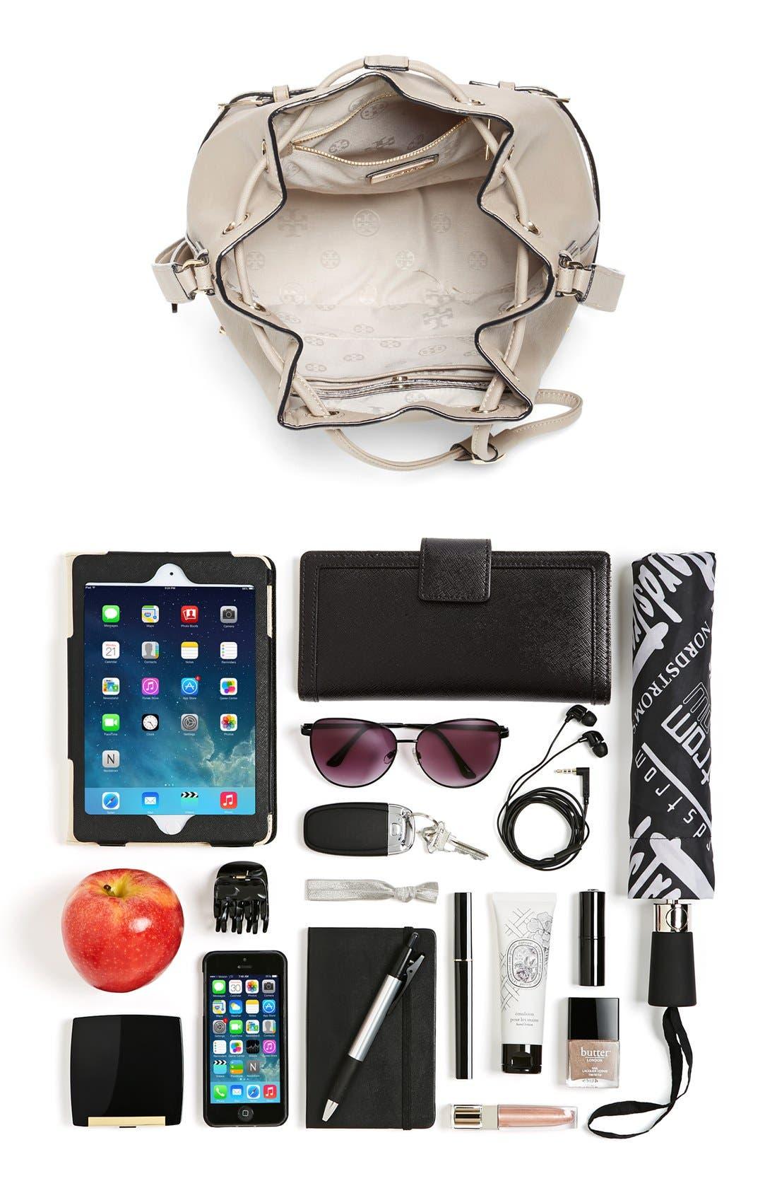 Alternate Image 7  - Tory Burch 'Robinson' Saffiano Leather Bucket Bag