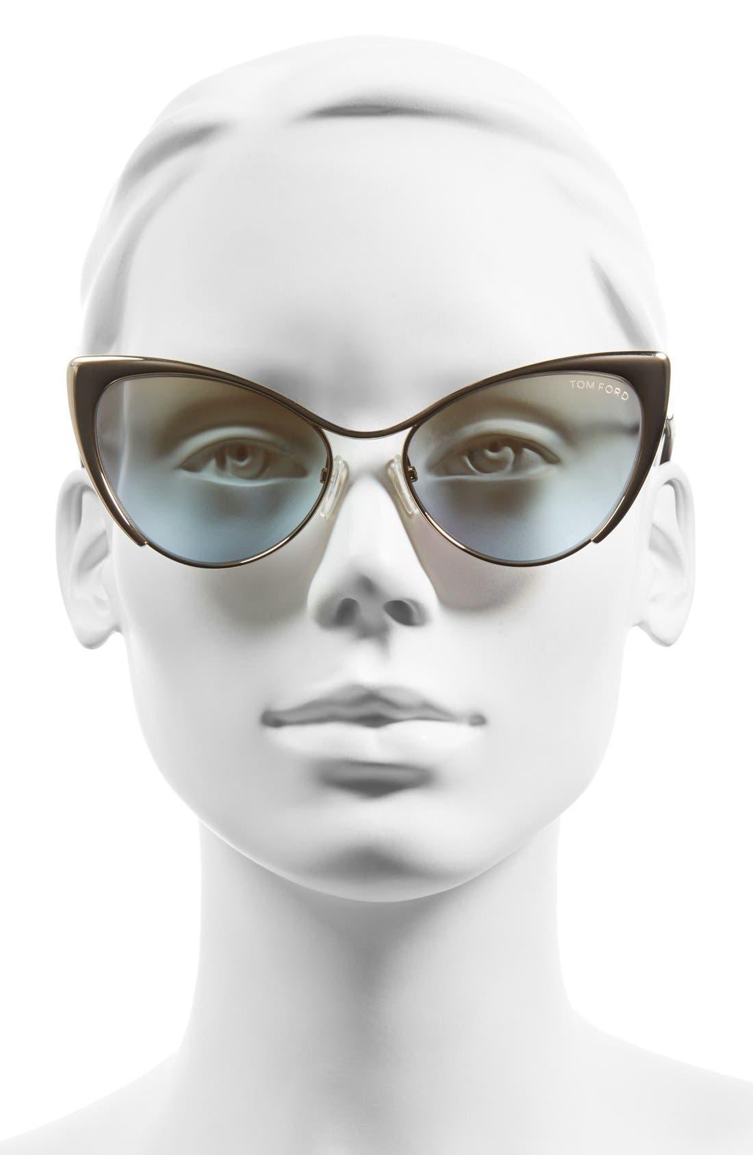 Alternate Image 2  - Tom Ford 'Nastasya' 56mm Sunglasses