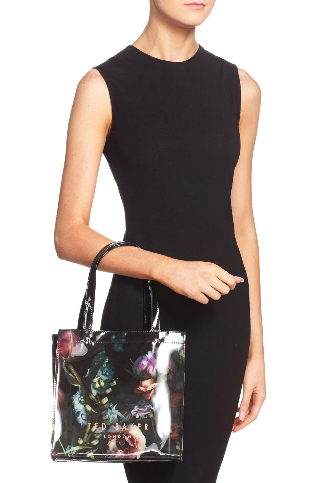 Alternate Image 2  - Ted Baker London 'Small Shadow Flora Icon' Tote