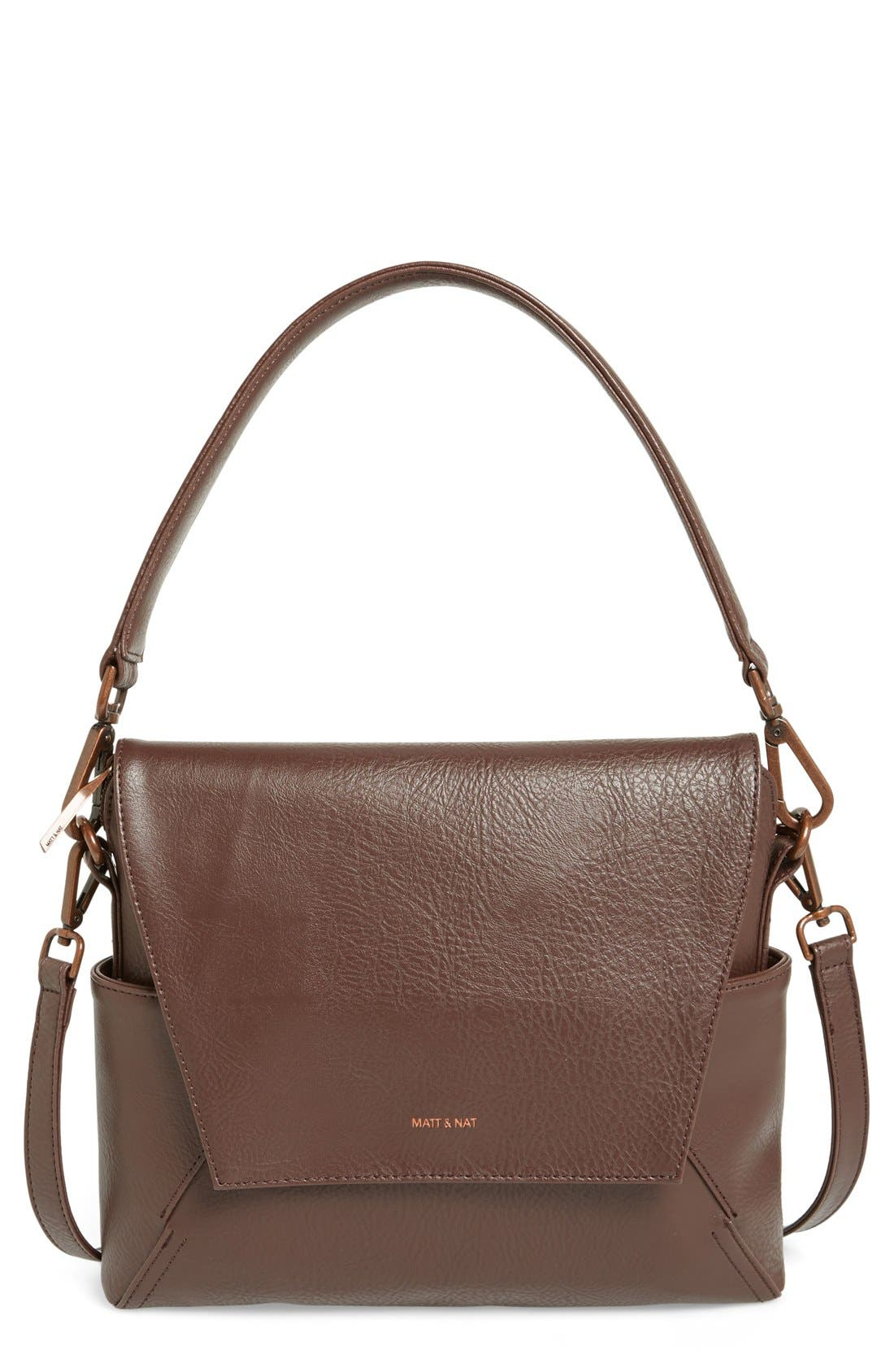 Alternate Image 1 Selected - Matt & Nat 'Minka' Faux Leather Shoulder Bag