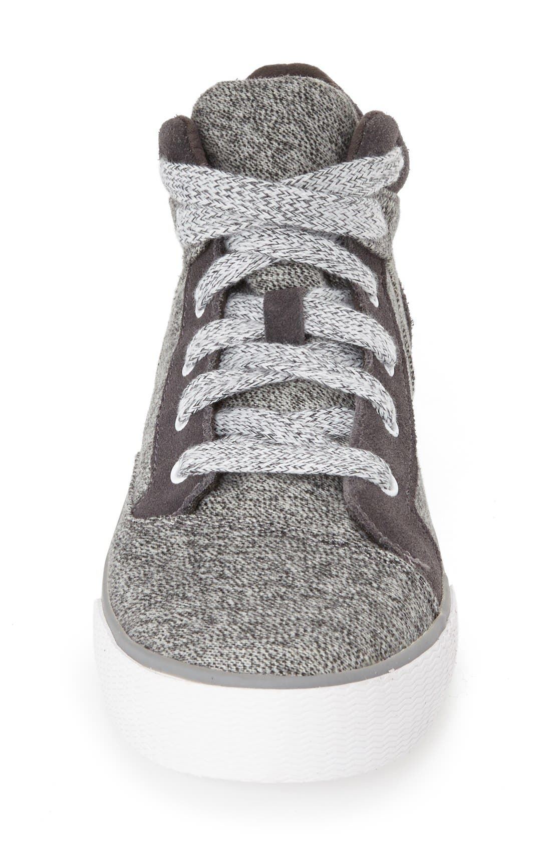 Alternate Image 3  - TOMS 'Camila' High Top Sneaker (Women)