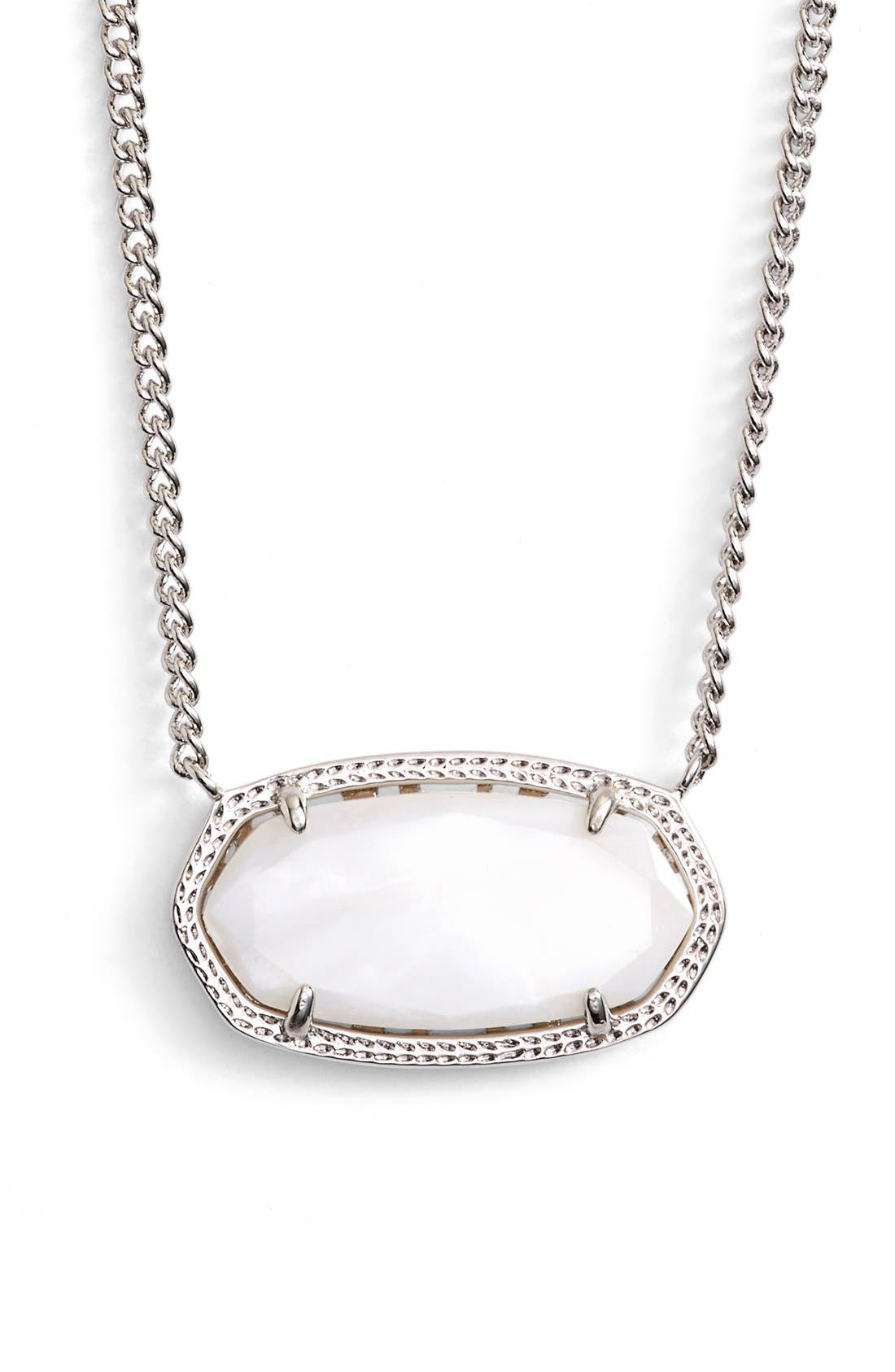 Alternate Image 1 Selected - Kendra Scott 'Dylan' Stone Pendant Necklace