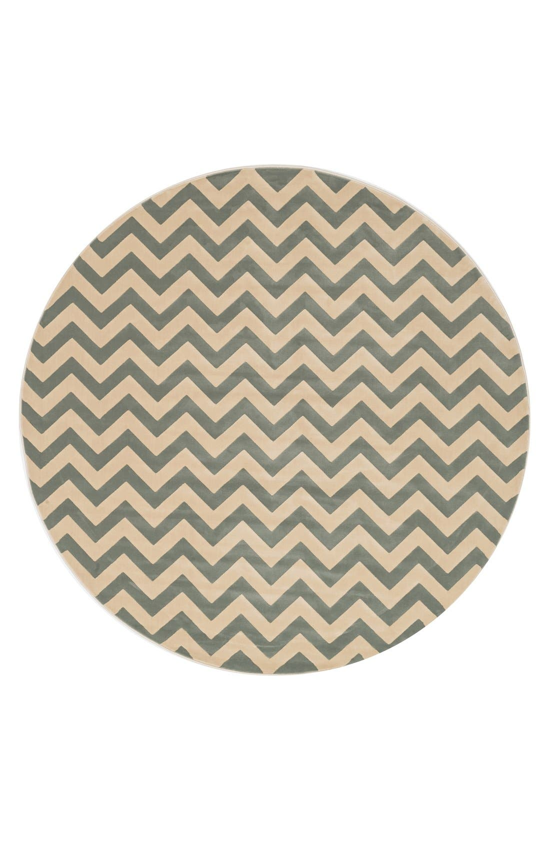 Alternate Image 1 Selected - Loloi 'Goodwin' Round Area Rug