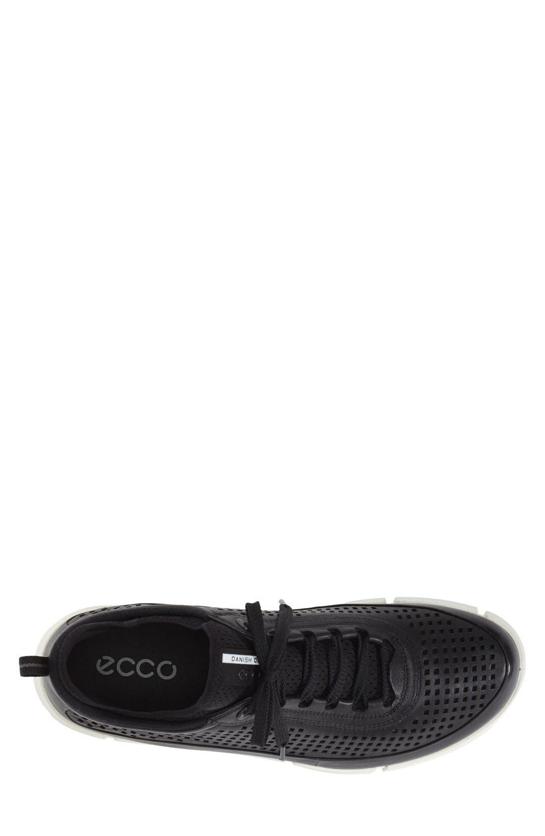 'Intrinsic' Sneaker,                             Alternate thumbnail 3, color,                             Black Leather
