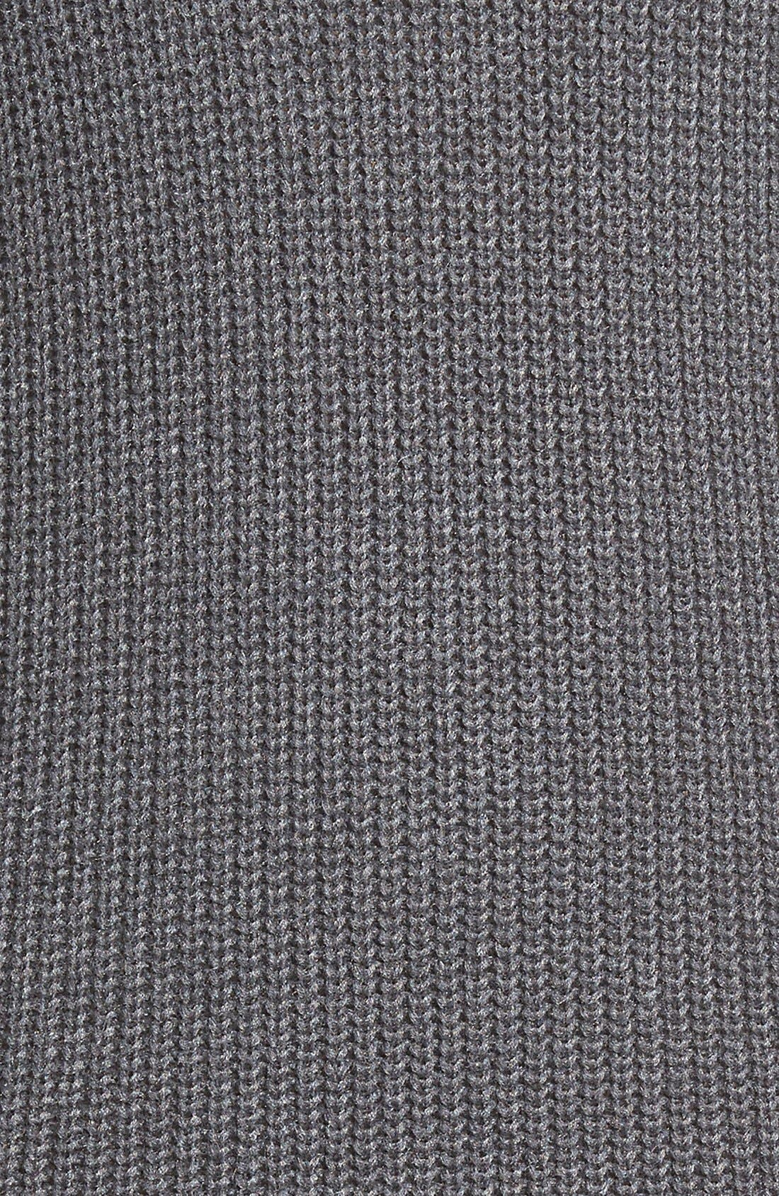 Alternate Image 5  - Halogen® Stitch Detail Knit Tunic (Regular & Petite)