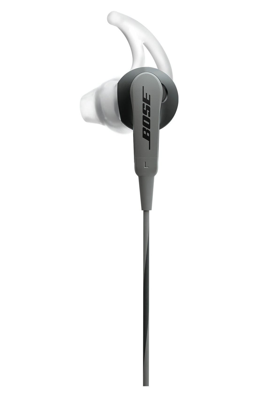 SoundSport<sup>®</sup> In-Ear Audio Only Headphones,                             Main thumbnail 1, color,                             Charcoal
