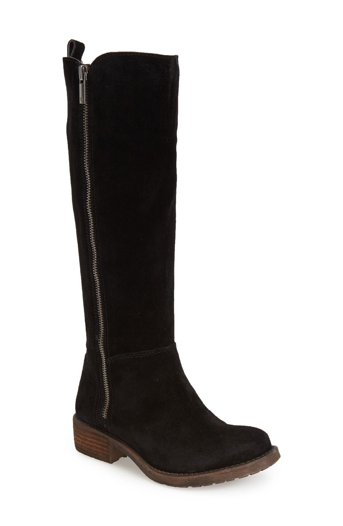 Boots for Women, Booties On Sale, Grey, suede, 2017, 3.5 5.5 6 7.5 Alberto