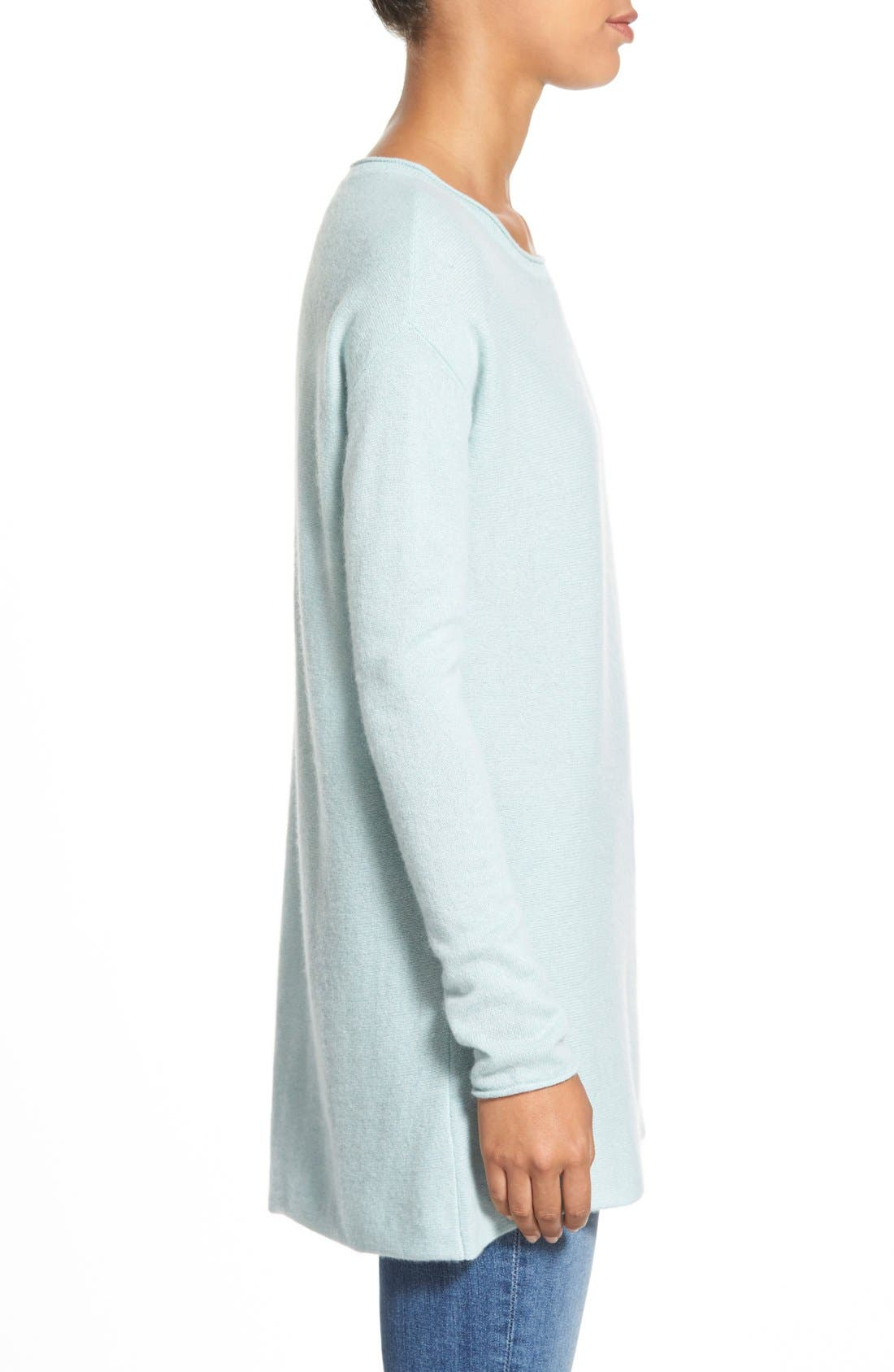 Alternate Image 3  - Caslon® Cashmere Tunic (Regular & Petite)