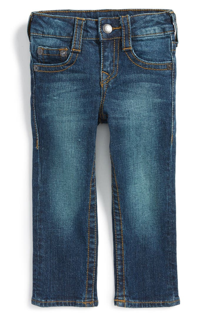true religion brand jeans 39 geno 39 relaxed slim fit jeans. Black Bedroom Furniture Sets. Home Design Ideas