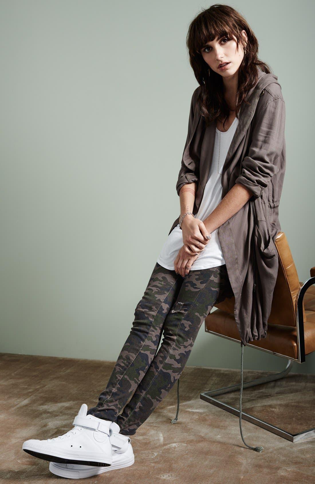 Alternate Image 4  - STS Blue Camo 'Megan' Skinny Jeans