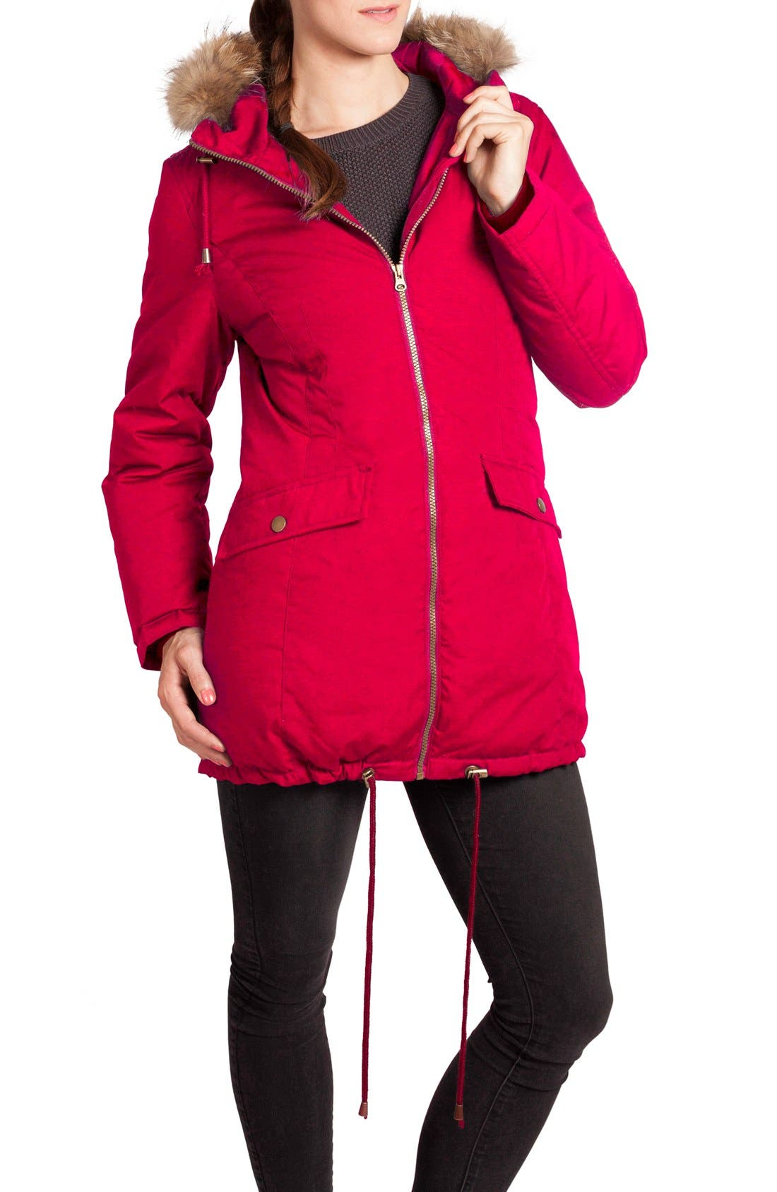 Modern Eternity Convertible Down Maternity Jacket