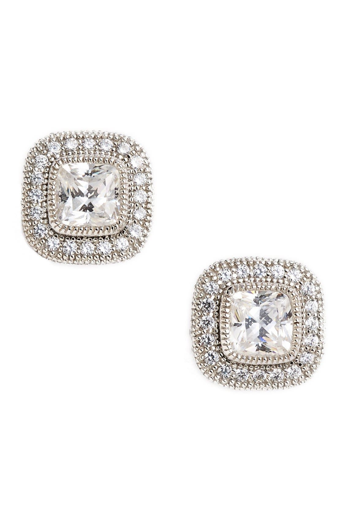 Lafonn'Lassaire' Square Stud Earrings