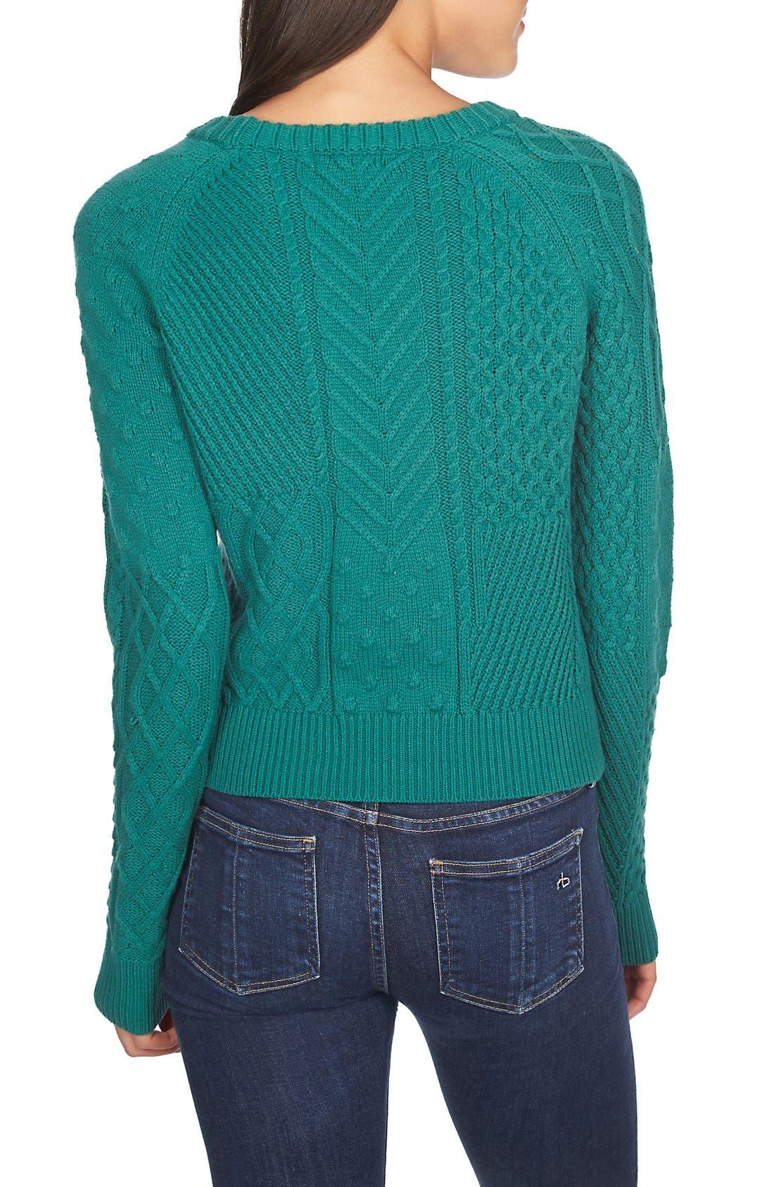 Alternate Image 2  - 1.STATE CrewneckKnit Sweater