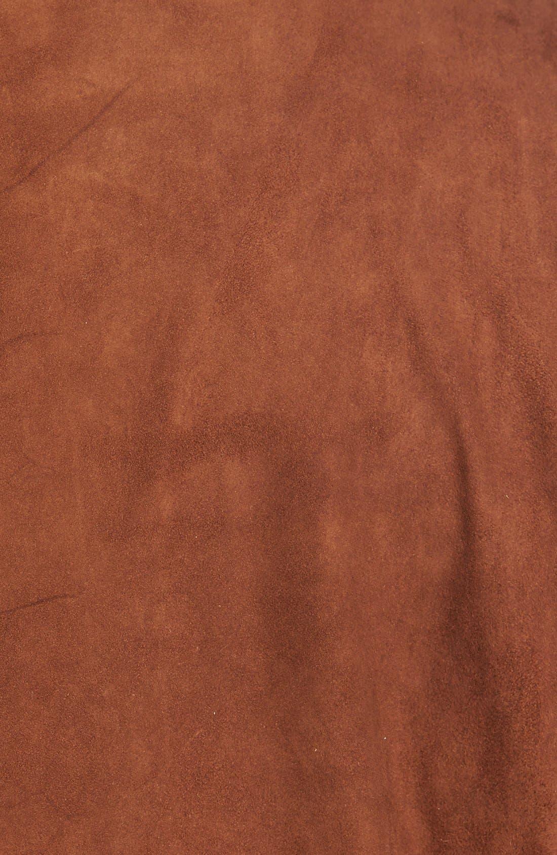 Alternate Image 5  - Golden Bear Slim FitSuede Blazer