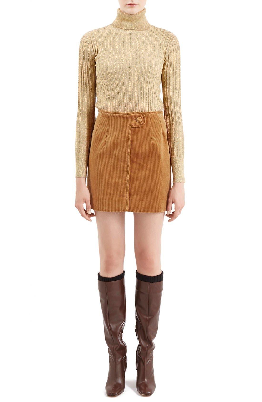 Alternate Image 2  - TopshopUnique 'Huntly' Turtleneck Sweater