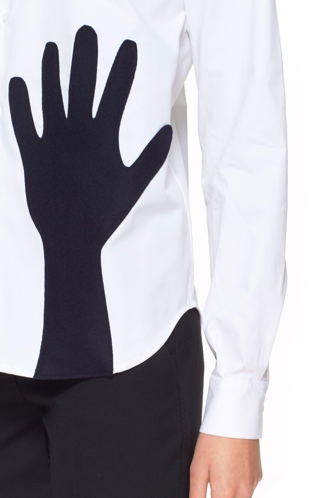 Alternate Image 5  - JacquemusContrast Hand Stretch CottonShirt