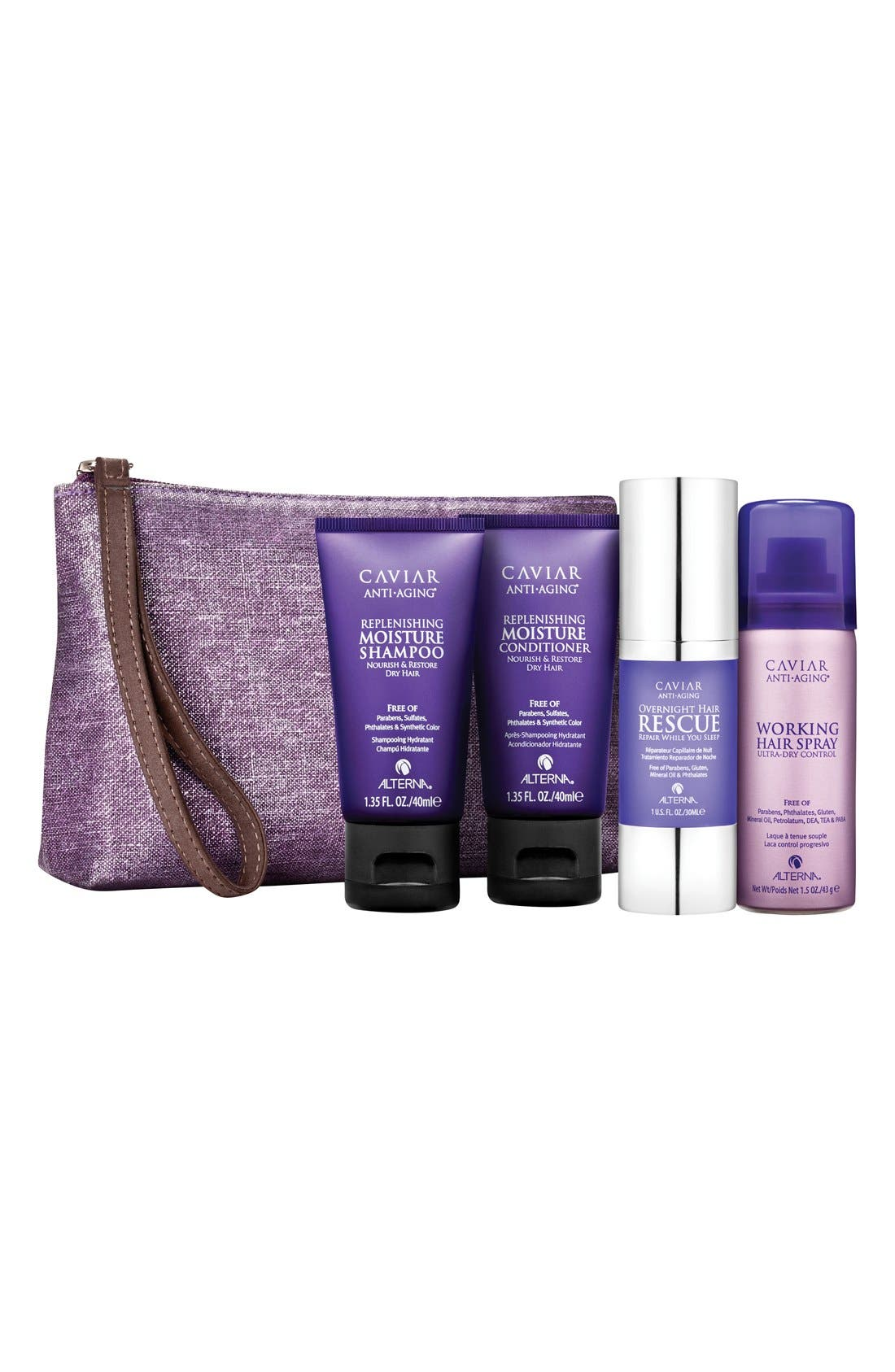 ALTERNA® Caviar Moisture Transformation Kit