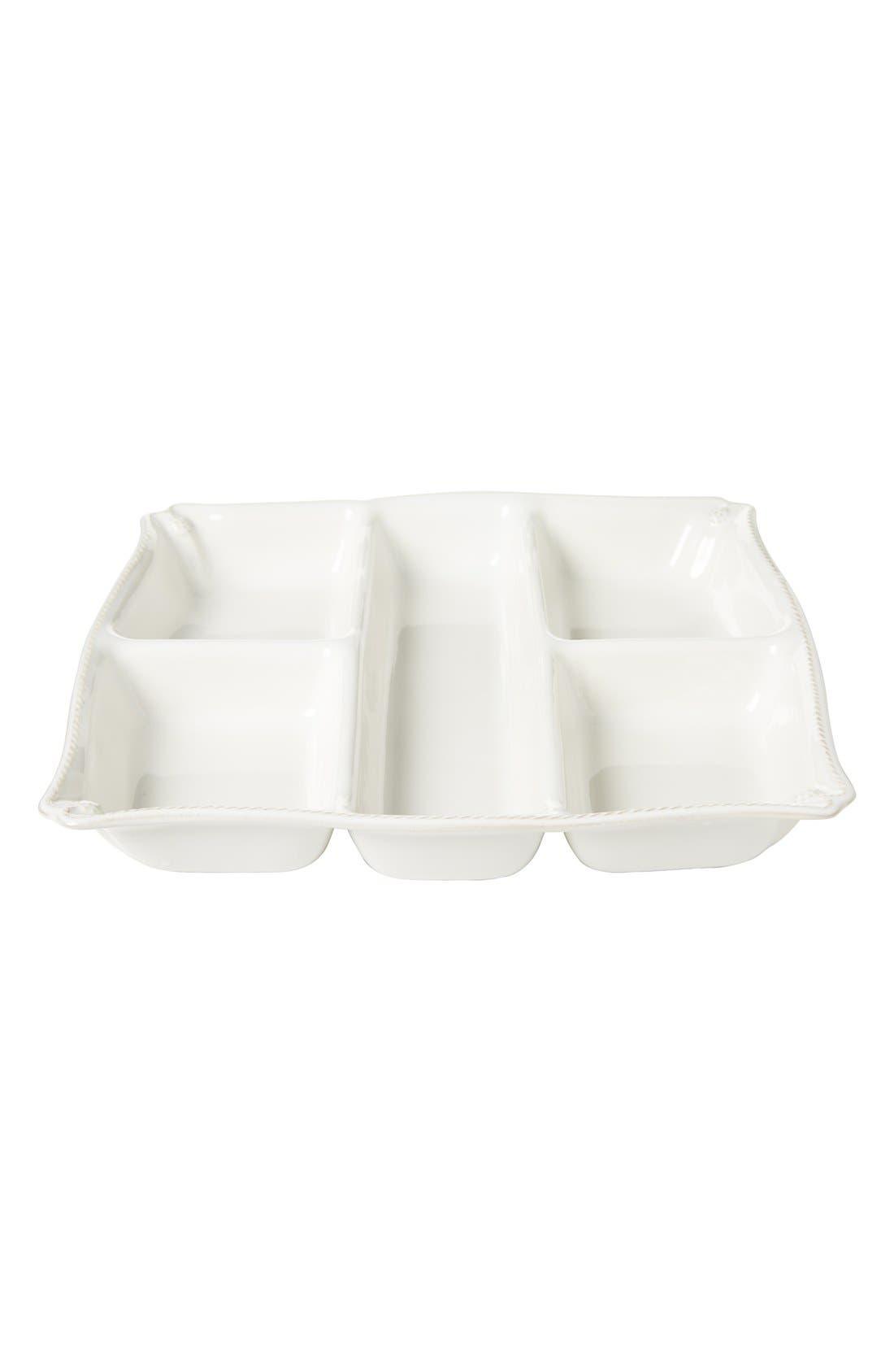 Alternate Image 3  - Juliska'Berry and Thread' Ceramic Appetizer Platter