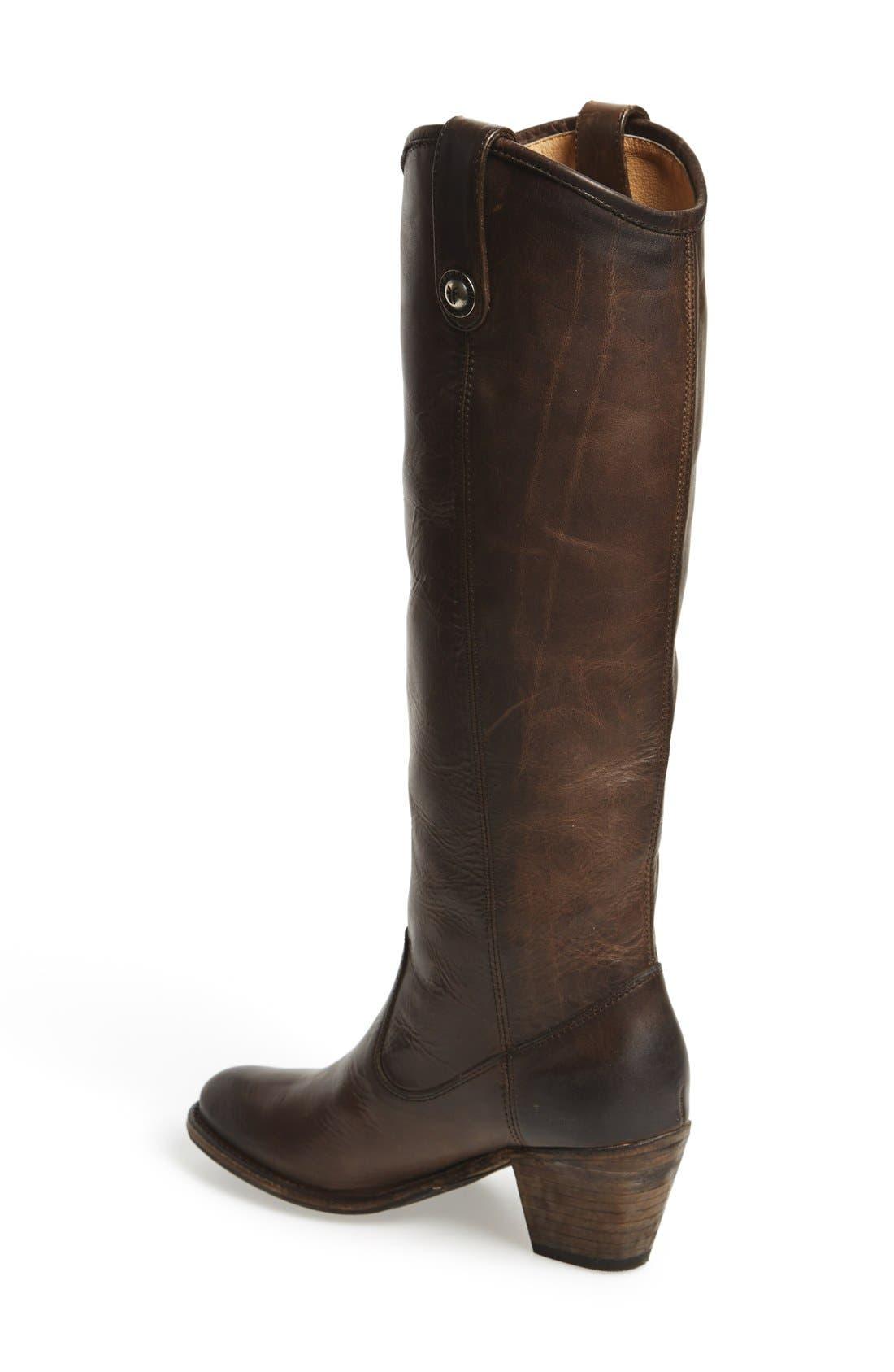 Alternate Image 2  - Frye 'Jackie Button' Tall Boot (Women)
