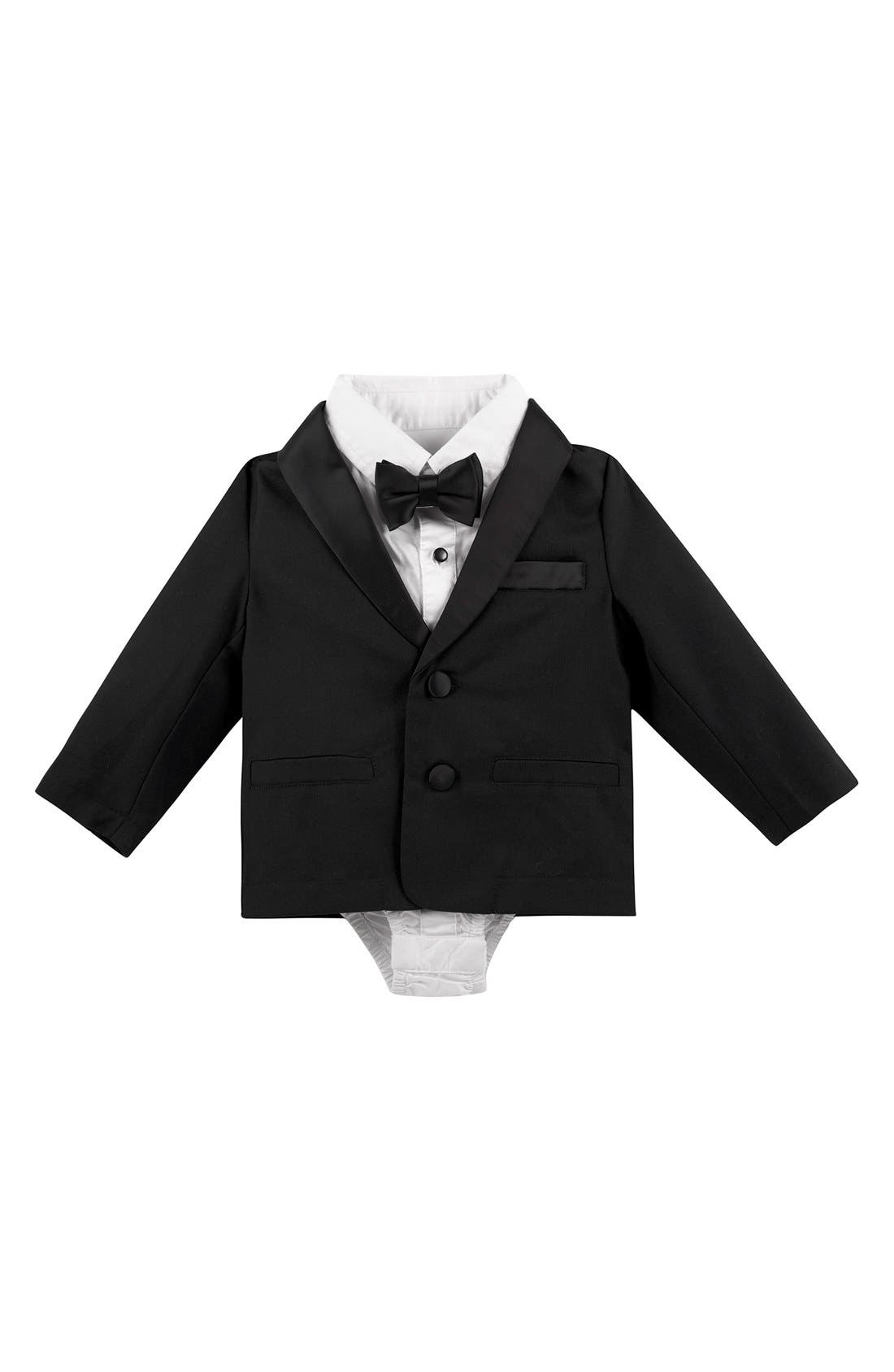 Andy & Evan Four-Piece Tuxedo Set (Baby Boys)