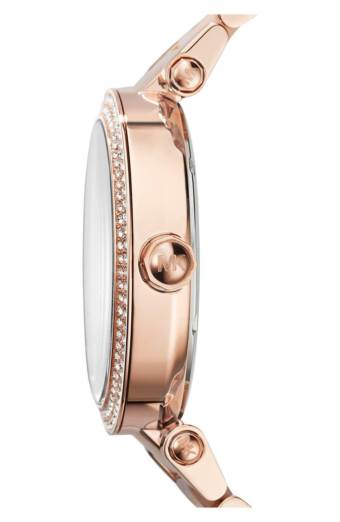 Alternate Image 3  - Michael Kors'Parker' Bracelet Watch,39mm