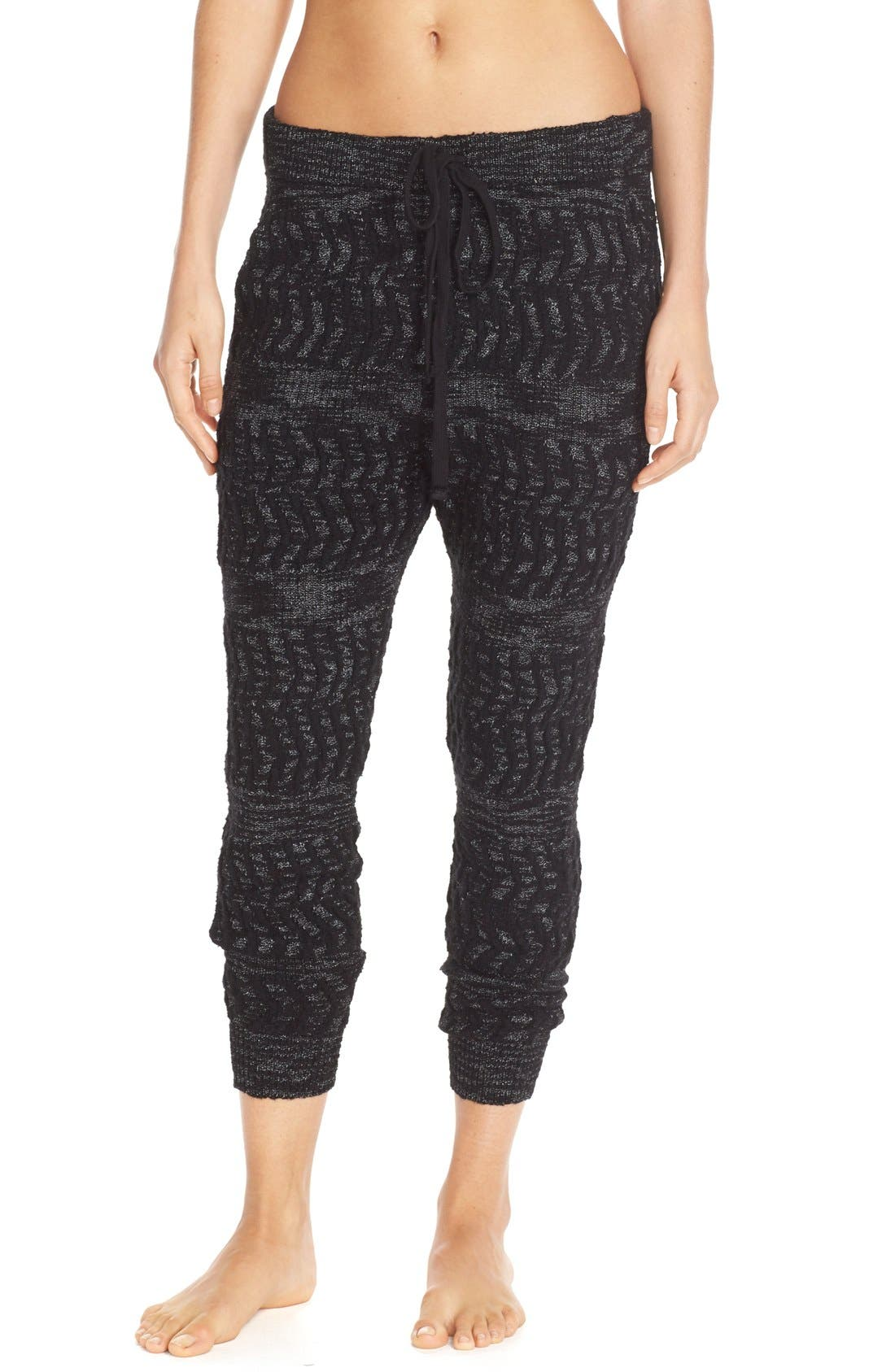 Alternate Image 1 Selected - Free People 'Road Trip' Cotton Blend Joggers