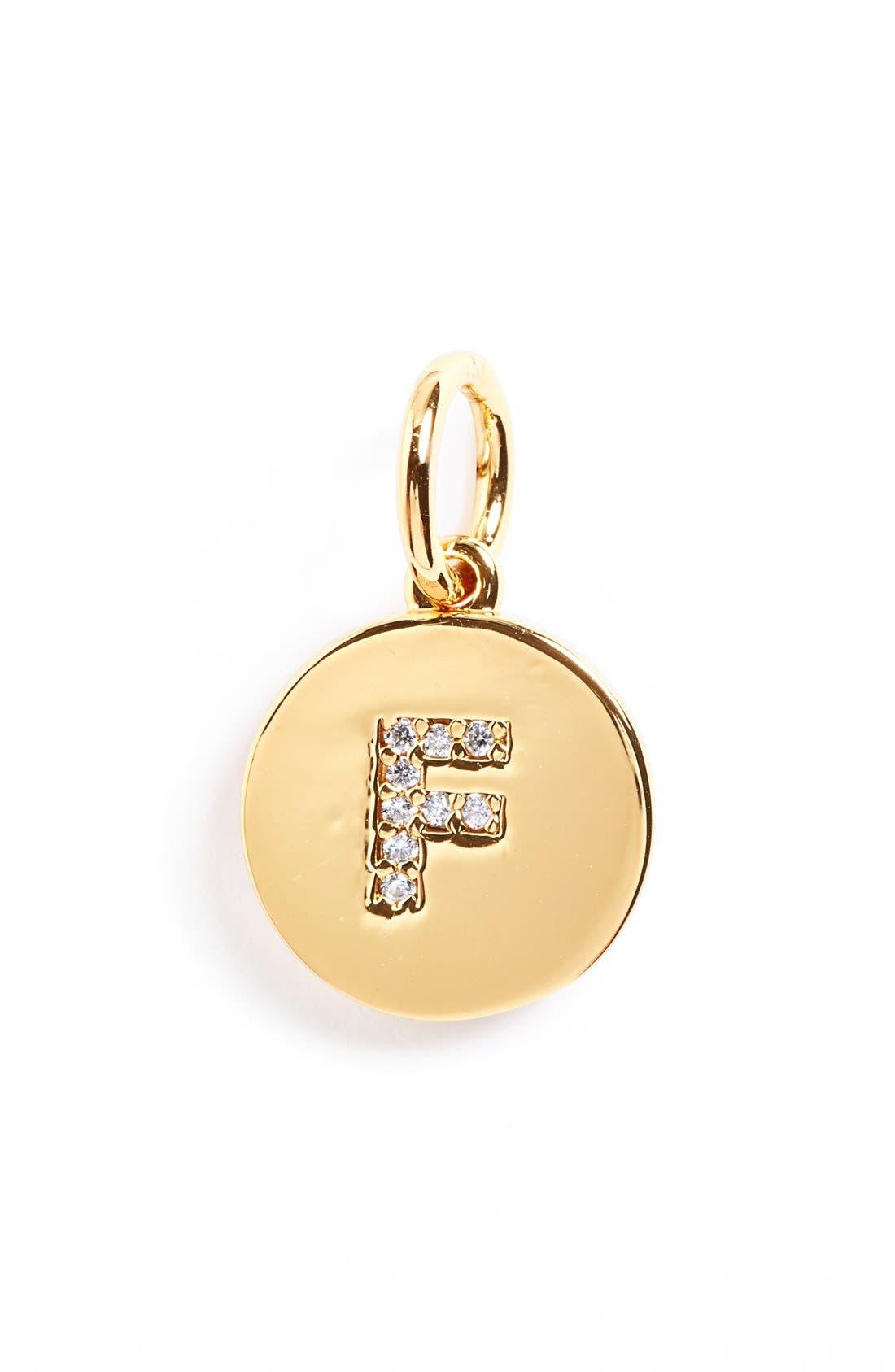 'Ice Alpha' Charm,                         Main,                         color, Gold - F