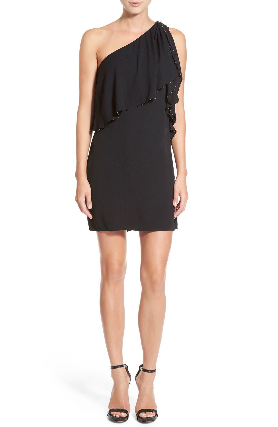 Alternate Image 1 Selected - Ella Moss 'Stella' One Shoulder Crepe Dress