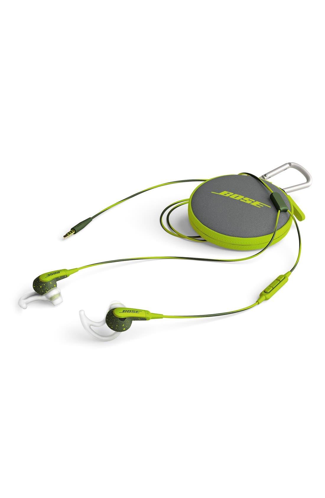 SoundSport<sup>®</sup> In-Ear Headphones,                             Alternate thumbnail 5, color,                             Energy Green
