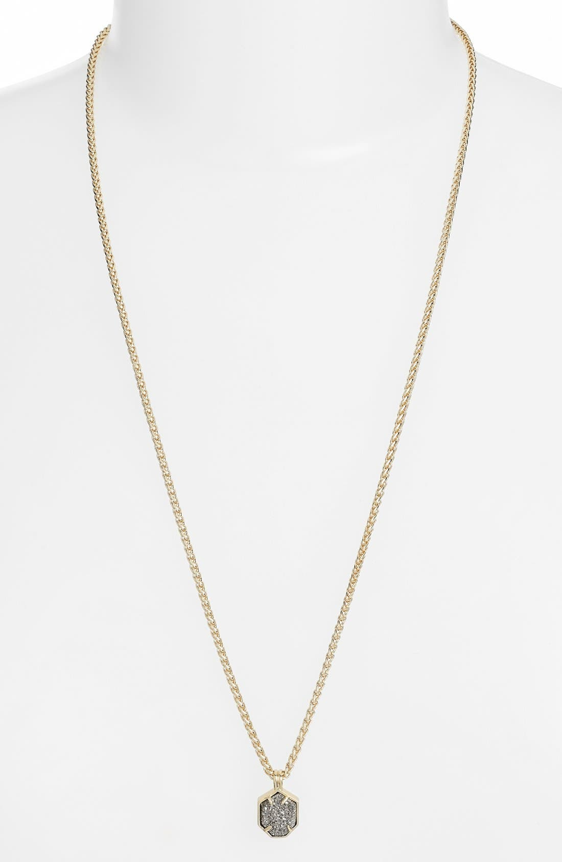 Alternate Image 1 Selected - Kendra Scott 'Oliver' Pendant Necklace