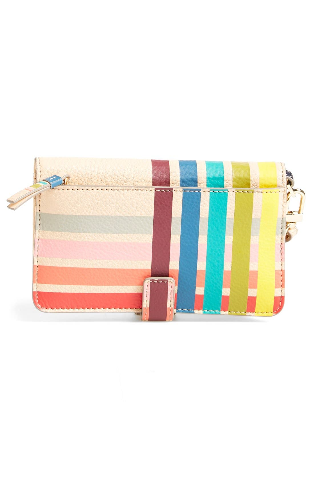 Alternate Image 4  - Tory Burch Striped Phone Wristlet