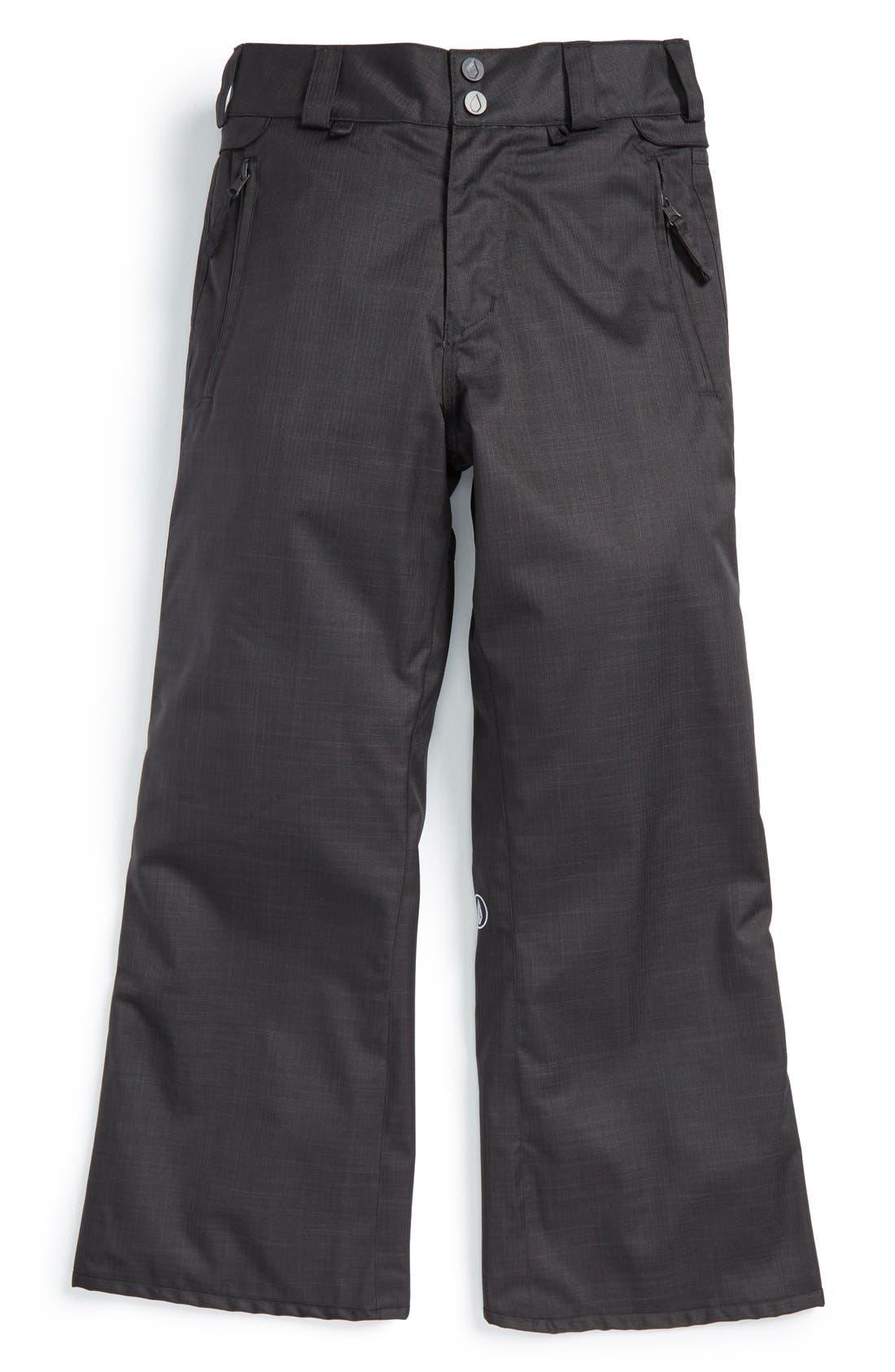 Volcom'Grimshaw' Insulated Snow Pants (Big Boys)
