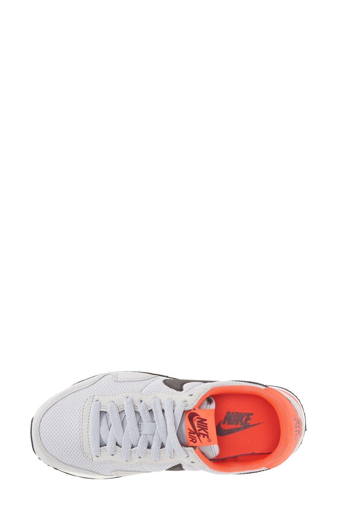 'Air Pegasus 83' Sneaker,                             Alternate thumbnail 3, color,                             Grey/ Black/ Red