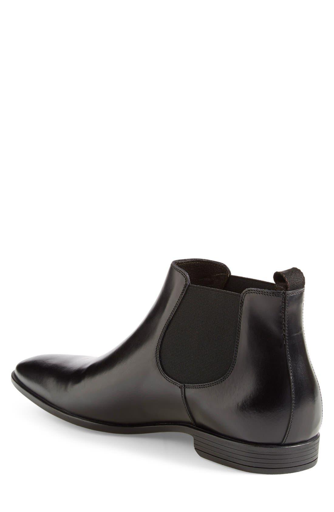 'Canton' Chelsea Boot,                             Alternate thumbnail 2, color,                             Black