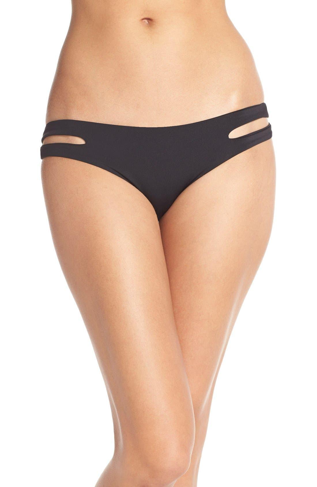 Estella Classic Bikini Bottoms,                             Main thumbnail 1, color,                             Black