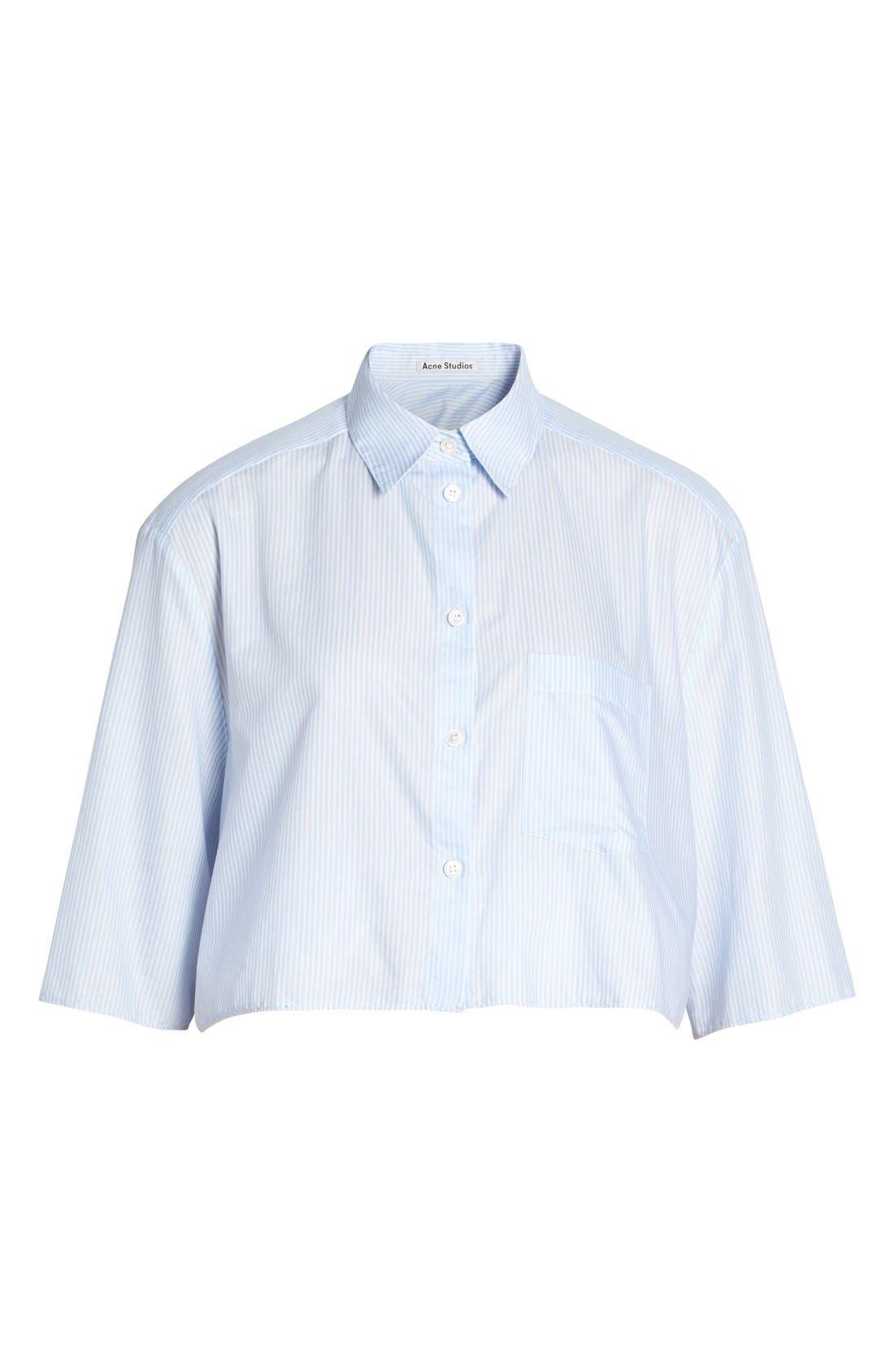Alternate Image 4  - ACNE Studios 'Genera' Stripe Shirt