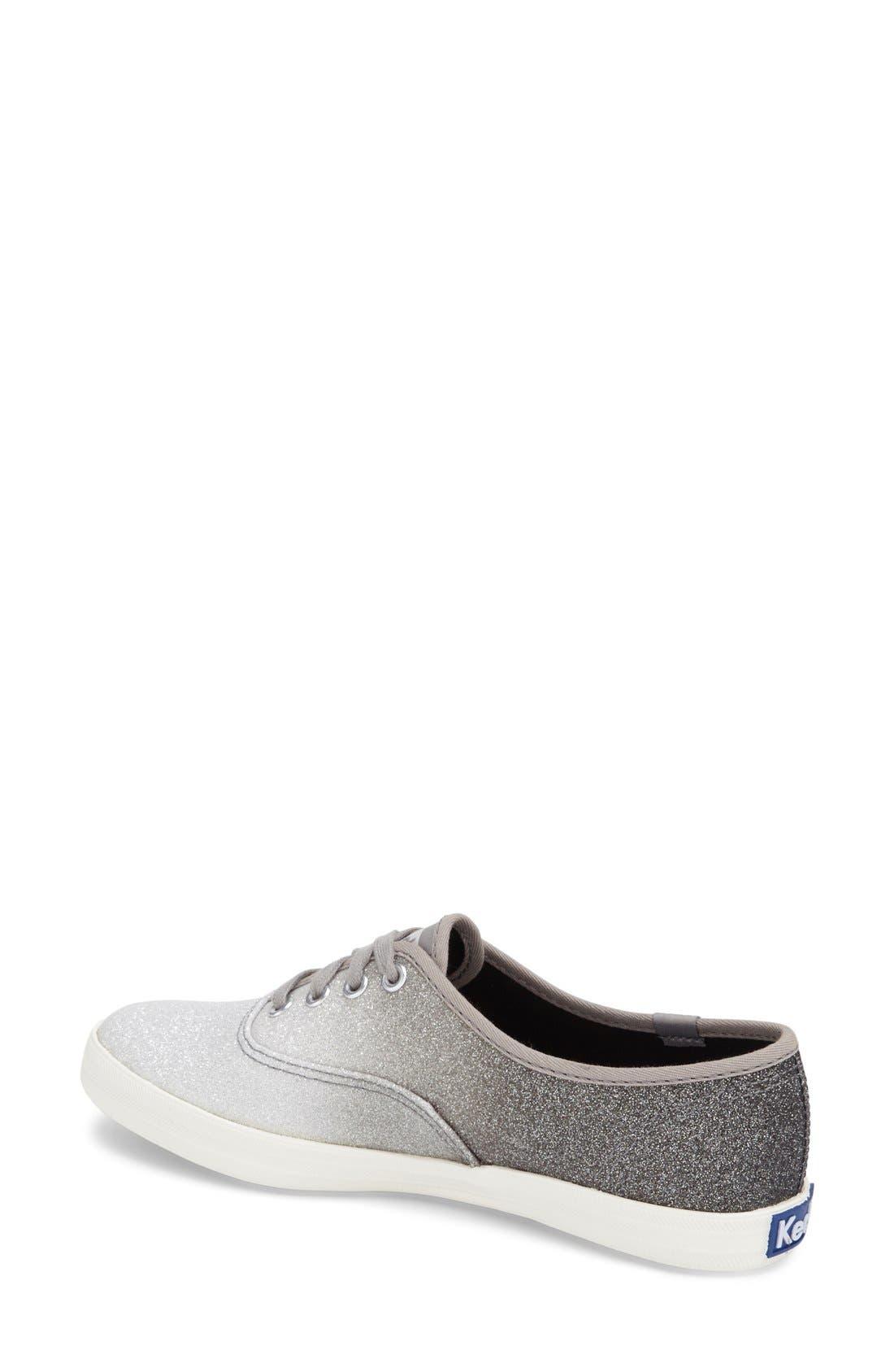 Alternate Image 2  - Keds® 'Champion - Ombré Glitter' Sneaker (Women)