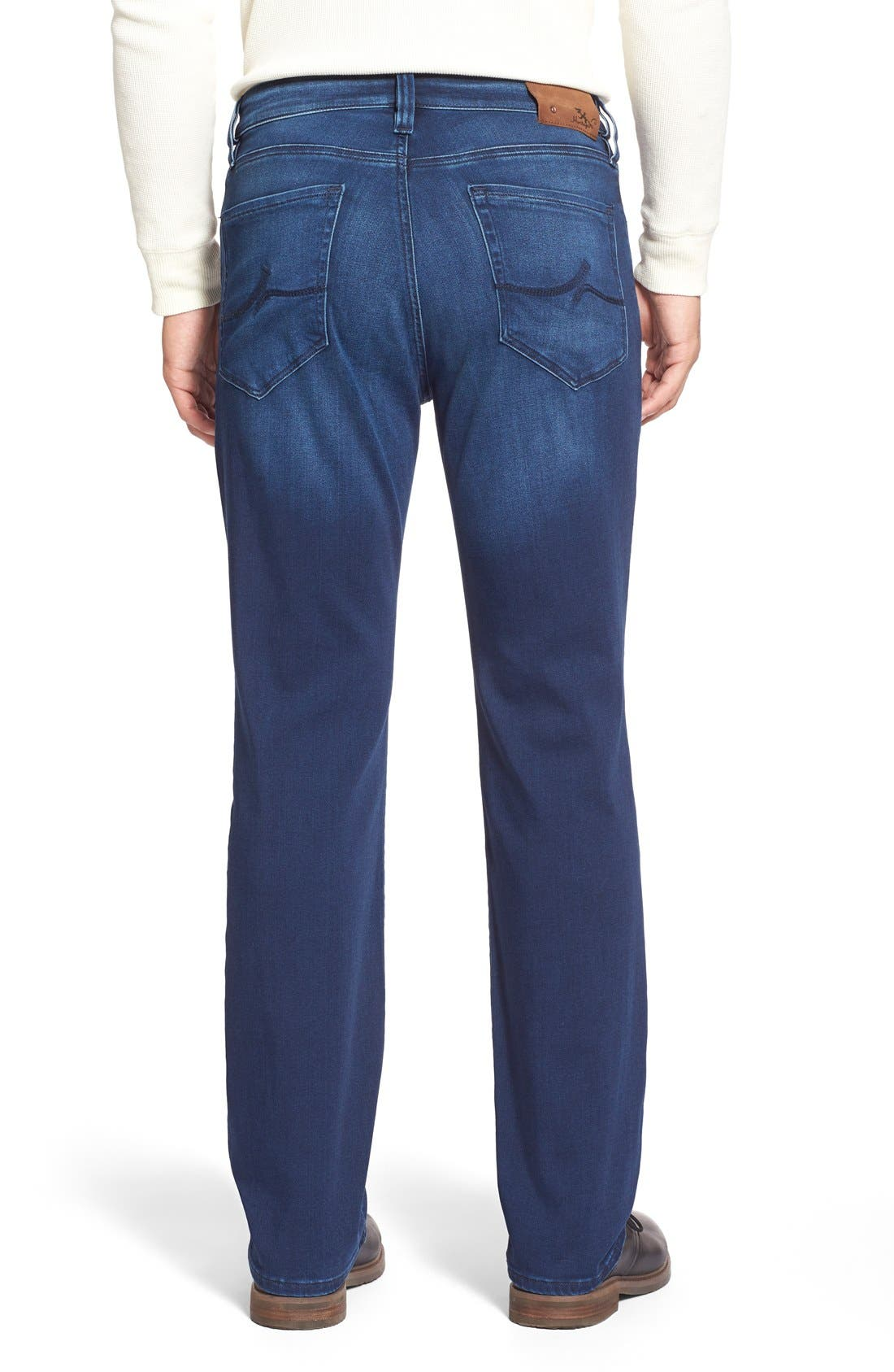 'Charisma' Relaxed Fit Jeans,                             Alternate thumbnail 2, color,                             Select Indigo
