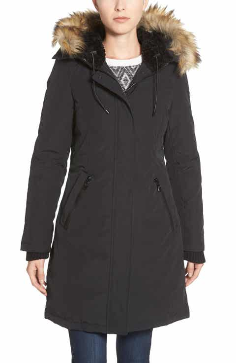 Women's Black Fur Coats & Faux-Fur Coats | Nordstrom