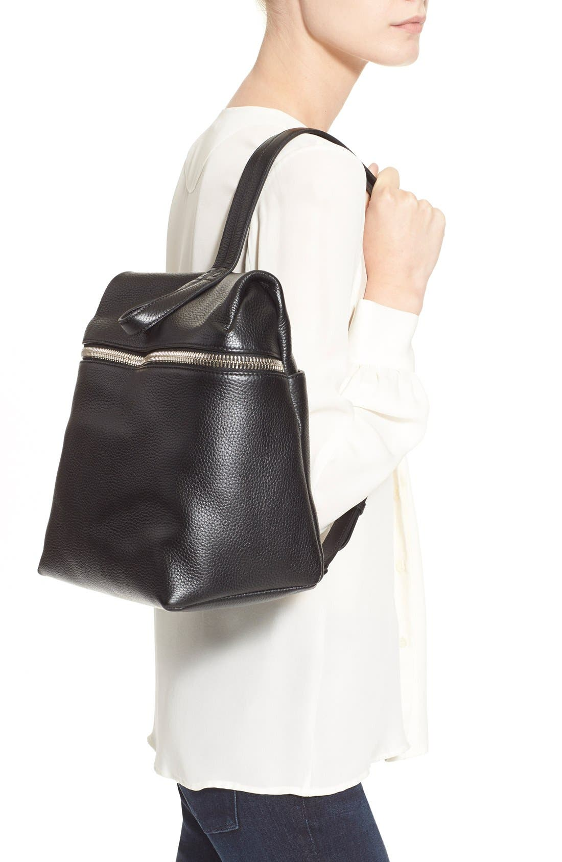 KARA Leather Backpack