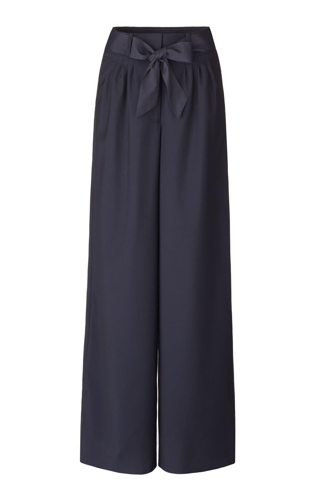 Pleat Front Trousers,                             Alternate thumbnail 8, color,