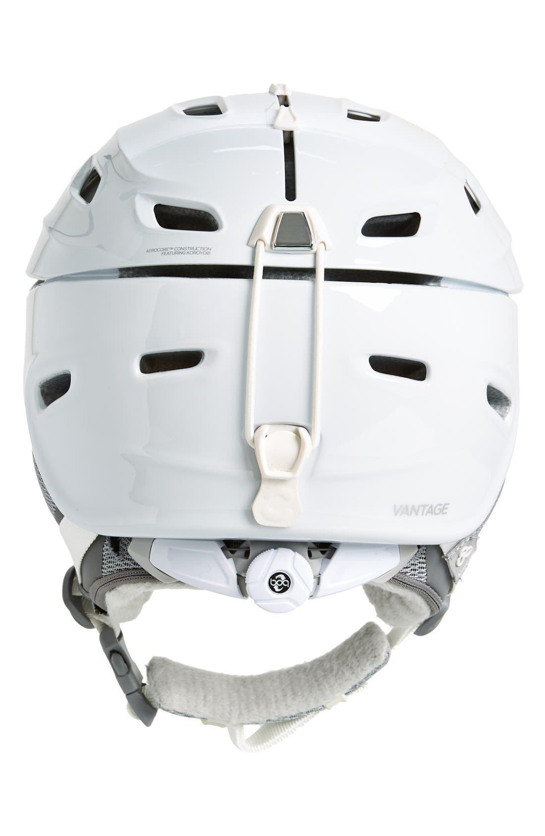 'Vantage' Snow Helmet,                             Alternate thumbnail 4, color,                             White