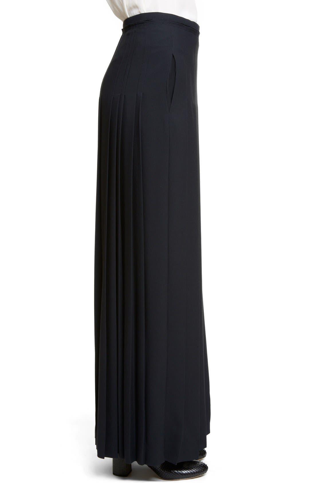Alternate Image 4  - Chloé Pleated Cady Maxi Skirt