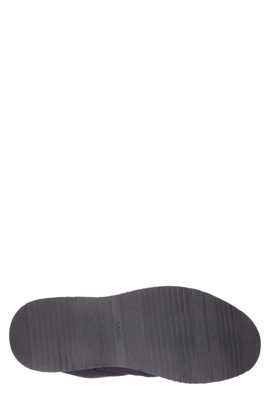 'Barry' Wingtip Boot,                             Alternate thumbnail 4, color,                             Black