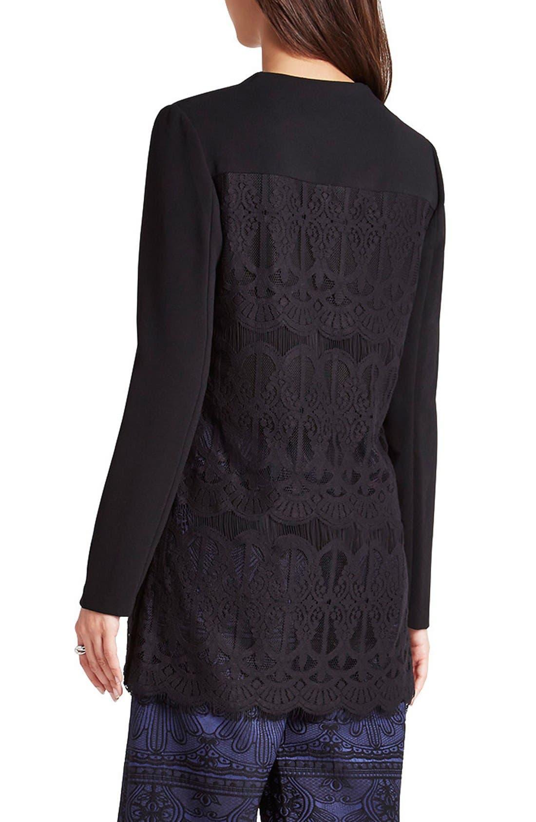 Alternate Image 2  - BCBGeneration Lace & Georgette Jacket