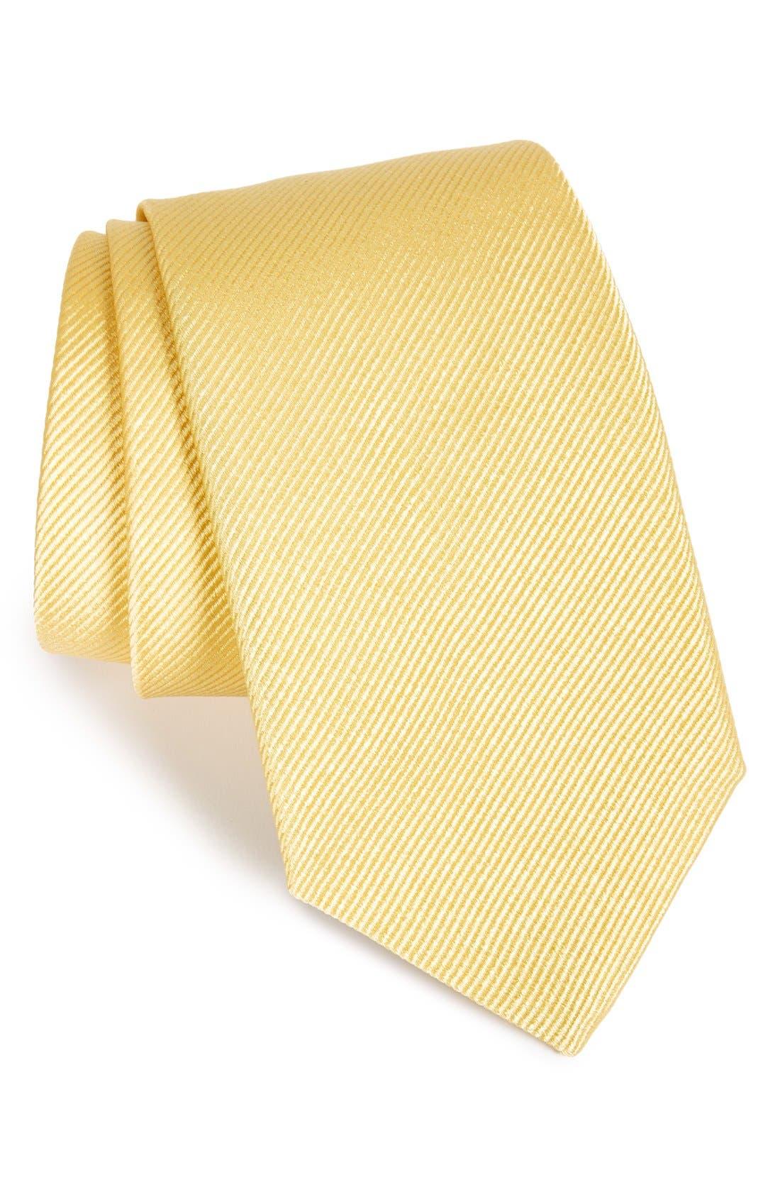 Gitman Solid Silk Tie (X-Long)