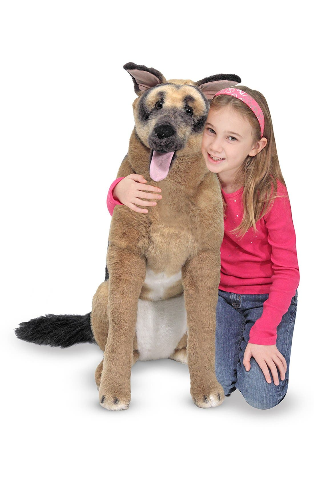 Oversized German Shepherd,                         Main,                         color, Brown