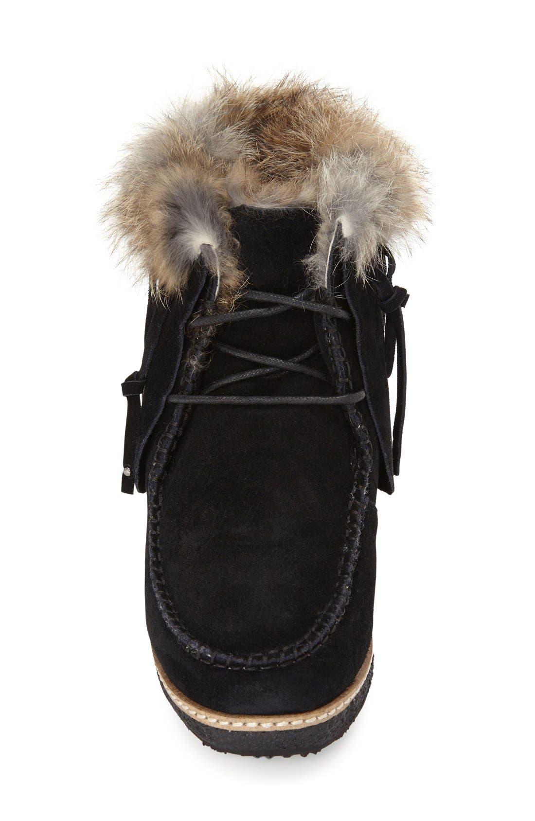 Alternate Image 3  - Australia Luxe Collective 'Mantra' Genuine Shearling & Genuine Rabbit Fur Boot (Women)