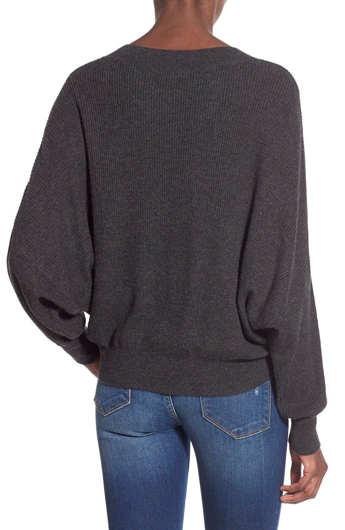 Alternate Image 3  - Leith Relaxed Fit Dolman Sweater