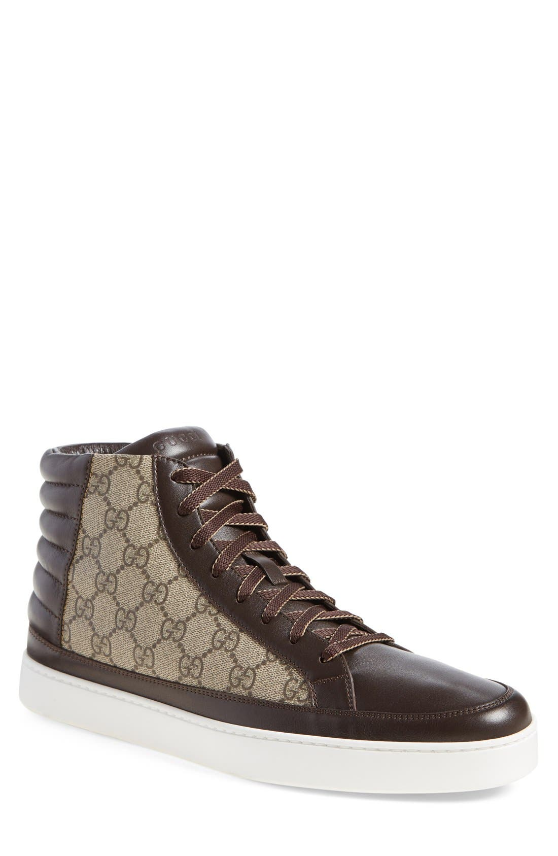 Main Image - Gucci 'Common' High Top Sneaker (Men)